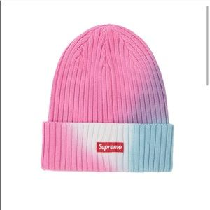 Supreme over dyed beanie
